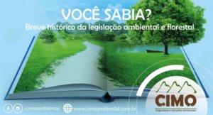 Você Sabia? Um breve histórico da legislação ambiental e florestal