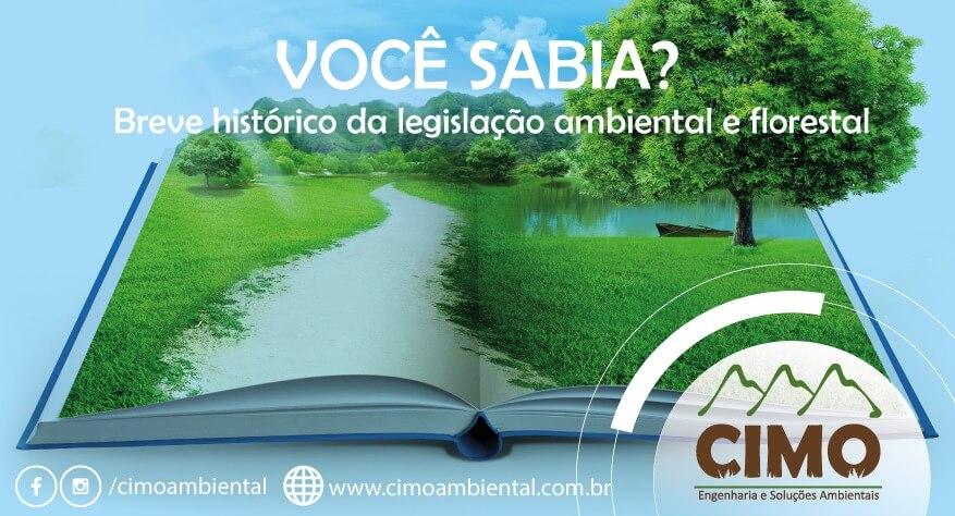 Você Sabia? Um breve histórico da legislação ambiental e florestal 1